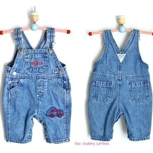 OshGosh Baby Jumper Bibs Bubble Shortalls Overalls